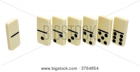 Seven Domino Dice