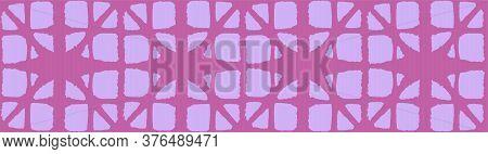 Japanese Tie Dye Seamless Pattern. Bohemian Kimono Textile. Geometric Bohemian Asian Tie Dye Design.