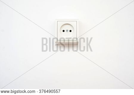 Some Of The Electricians Equipment, On White Background