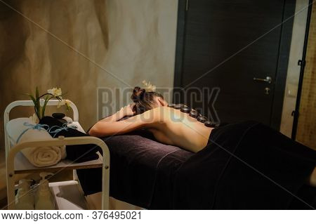 A Stons Therapy In The Spa Salon
