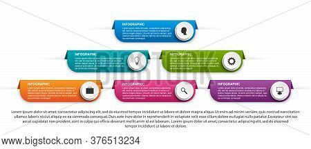 Abstract Options Infographics Template. Infographics For Business Presentations Or Information Banne