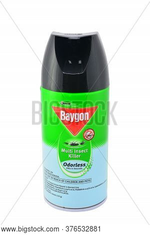 Quezon City, Ph - July 8 - Baygon Multi Insect Killer Odorless Spray Can On July 8, 2020 In Quezon C