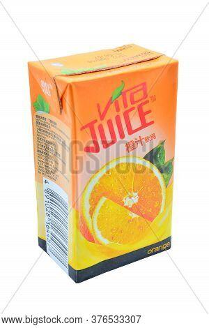 Quezon City, Ph - July 8 - Vita Orange Juice On July 8, 2020 In Quezon City, Philippines.