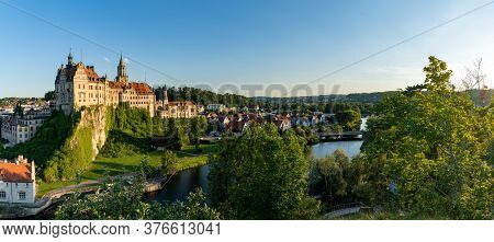 Panorama View Of The Hohenzollern Castle Sigmaringen