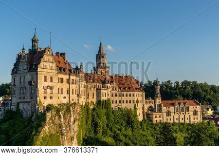 View Of The Hohenzollern Castle At Sigmaringen