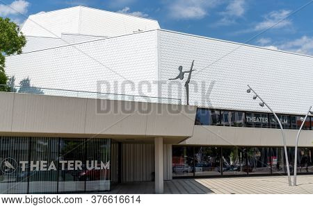 View Of The City Theater In Ulm
