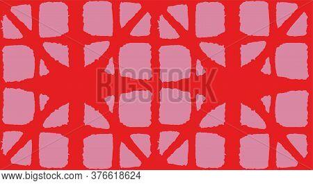 Japanese Tie Dye Seamless Pattern. Soft Curve Arc Pattern Geometric Bohemian Asian Tie Dye Texture.