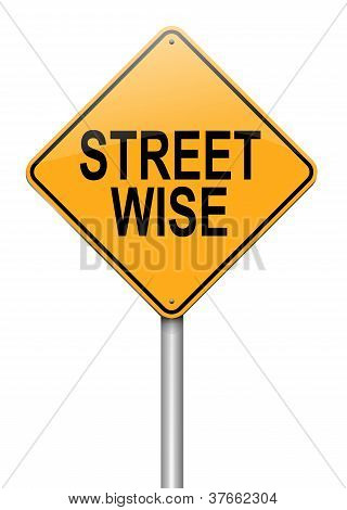 Street Wise Concept.