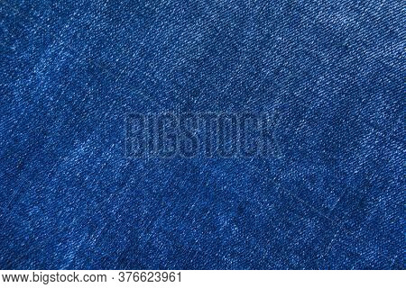 Blue jeans fabric. Denim jeans texture or denim jeans background