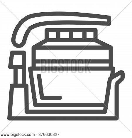 Aerogrill Line Icon, Kitchen Appliances Concept, Kitchenware Sign On White Background, Electric Home