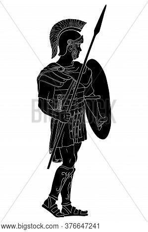Ancient Roman Warrior.
