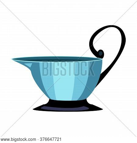 Kyathos Flat Icon. Ancient Cup, Greek Utensil, Drink. Greek Vases Concept. Illustration Can Be Used