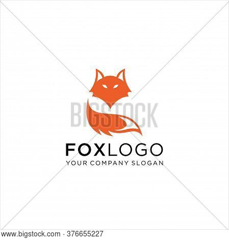 Vector Of Fox Design On White Background. Foxs Logo Or Icons. Easy Editable Layered Vector Illustrat