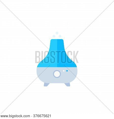 Air Humidifier, Purifier Icon, Flat Vector, Eps 10 File, Easy To Edit