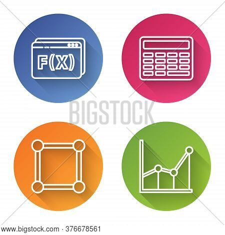 Set Line Geometric Figure Pentagonal Prism, Chalkboard, Chalkboard With Diagram And Sigma Symbol. Co