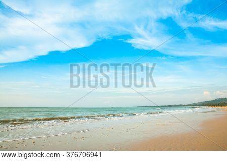 Beautiful Tropical Beach And Sea .