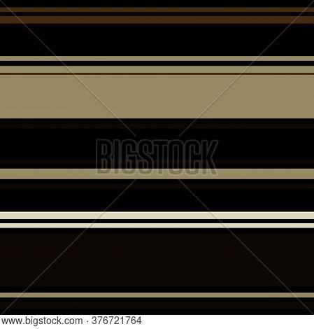 Sailor Stripes Seamless Pattern. Horizontal Lines Endless Design. Autumn Winter Modern Fashion Texti