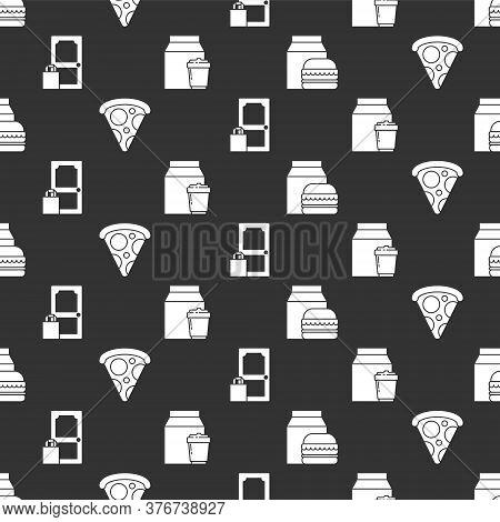 Set Online Ordering And Burger Delivery, Slice Of Pizza, Online Ordering And Delivery And Online Ord