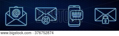 Set Line Chat Messages Notification On Phone, Mail And E-mail, Delete Envelope, Mail Message Lock Pa