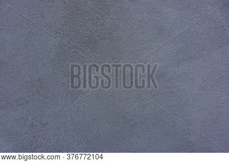 Gray Cement Plaster Wall. Background For Design.