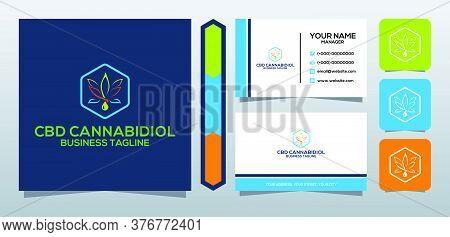Cbd Logo Vector Icon Template For Cbd Cannabidiol Cannabis Hemp Marijuana Bussiness Health Company