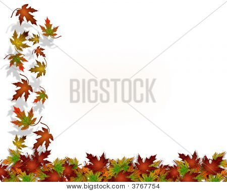 Thanksgiving fallen herbst hintergrund laub
