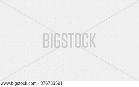 White Background. Cut Paper Effect With Embossed Texture. Vector Eps10