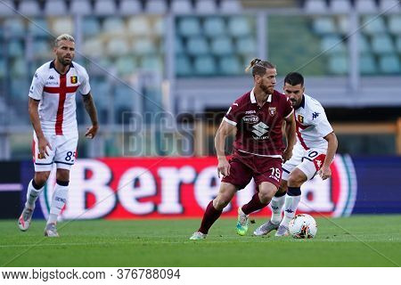 Torino, (italy). 16th July 2020. Italian Football Serie A. Torino Fc Vs Genoa Cfc. Cristian Ansaldi