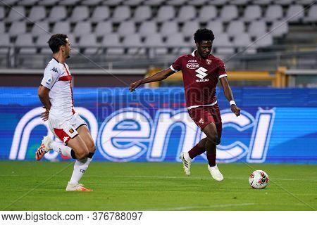 Torino, (italy). 16th July 2020. Italian Football Serie A. Torino Fc Vs Genoa Cfc. Temitayo Aina  Of