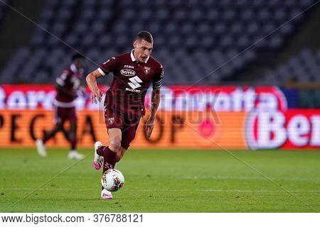 Torino, (italy). 16th July 2020. Italian Football Serie A. Torino Fc Vs Genoa Cfc. Andrea Belotti Of