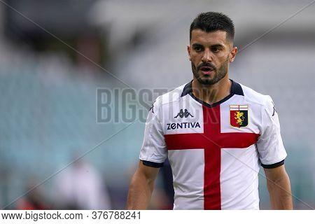 Torino, (italy). 16th July 2020. Italian Football Serie A. Torino Fc Vs Genoa Cfc. Iago Falque Of Ge