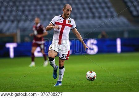 Torino, (italy). 16th July 2020. Italian Football Serie A. Torino Fc Vs Genoa Cfc. Andrea Masiello O