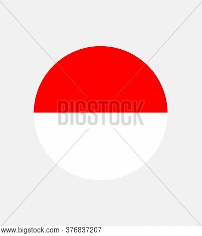 National Indonesia  Flag, Official Colors And Proportion Correctly. National Indonesia Flag.