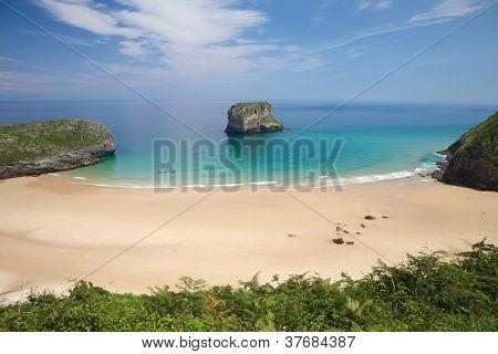 La Ballota Beach With Islet
