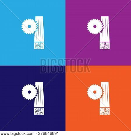 Electric Saw Premium Quality Icon. Elements Of Constraction Icon. Signs And Symbols Collection Icon