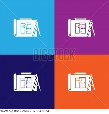 Building Plan Premium Quality Icon. Elements Of Constraction Icon. Signs And Symbols Collection Icon