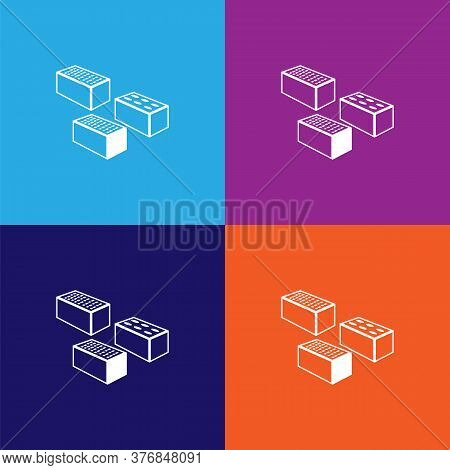 Bricks Premium Quality Icon. Elements Of Constraction Icon. Signs And Symbols Collection Icon For We
