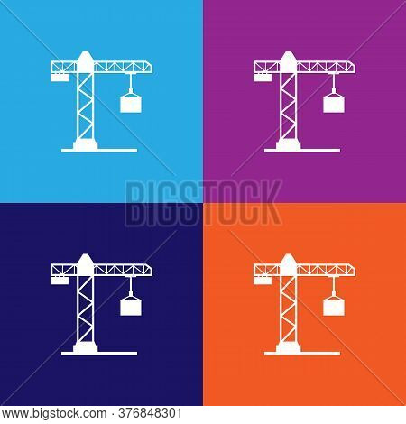 Crane Premium Quality Icon. Elements Of Constraction Icon. Signs And Symbols Collection Icon For Web