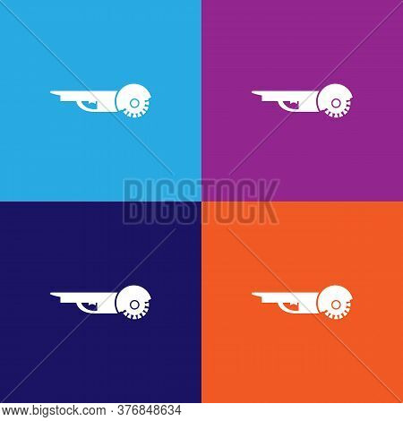 Angle Grinder Premium Quality Icon. Elements Of Constraction Icon. Signs And Symbols Collection Icon