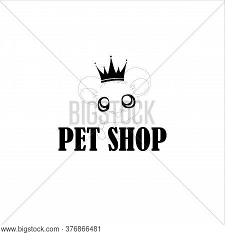 Pet Shop Logo Design Stock Illustrations . Pet Logo Design . Dog Cat Logo . Animal Pet Care Logo . V