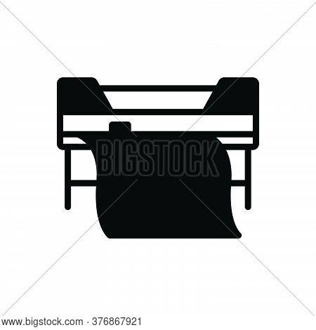 Black Solid Icon For Custom-printing Printer Printing Copierprinter Printing Copier Machine Technolo
