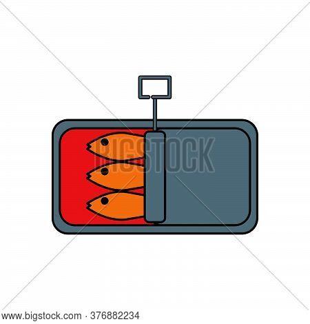 Sardines Vector Design Template Illustration