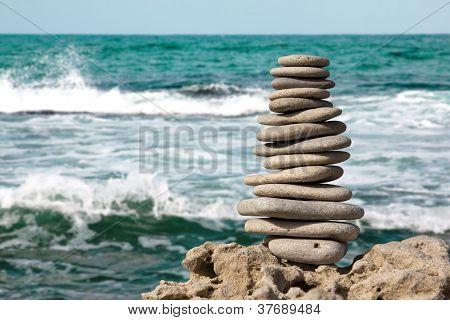 Stones On Sea