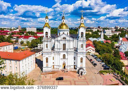 Vitebsk, Belarus - July 20, 2019 - Holy Spirits Women's Monastery Of The Vitebsk Diocese
