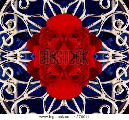 Rose Design Background