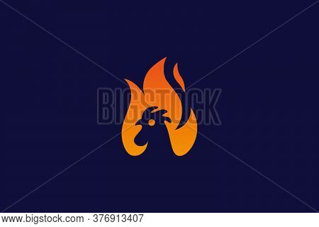 chicken logo . chicken flame design . chicken vector . awesome chicken logo idea . chicken head . chicken flame . chicken fire. chicken logo design . chicken head with flames idea