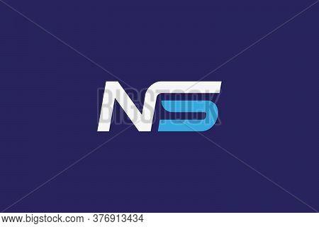 NS. NS design . N S logo . NS images. NS tech logo. NS logo ideas . NS vector . NS design . Letter NS logo design . modern Letter NS logo