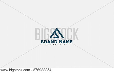 Aa Logo Design Template Vector Graphic Branding Element.