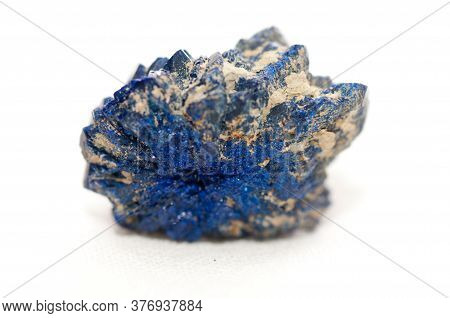 Vibrant Blue Azurite, Found In Copper Mining