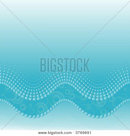 Halftone Waves